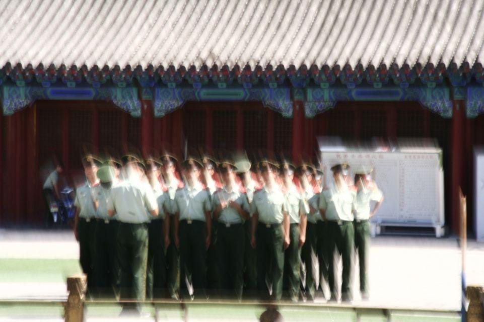 Soldat,China,Peking,Verbotene Stadt