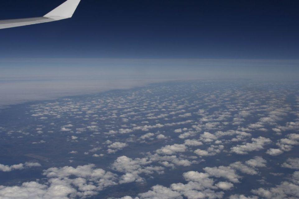 Sky,Indien,Flugzeug,Blau