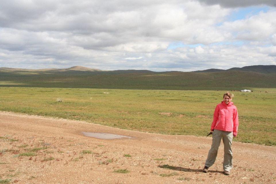 Mongolei,Wolken