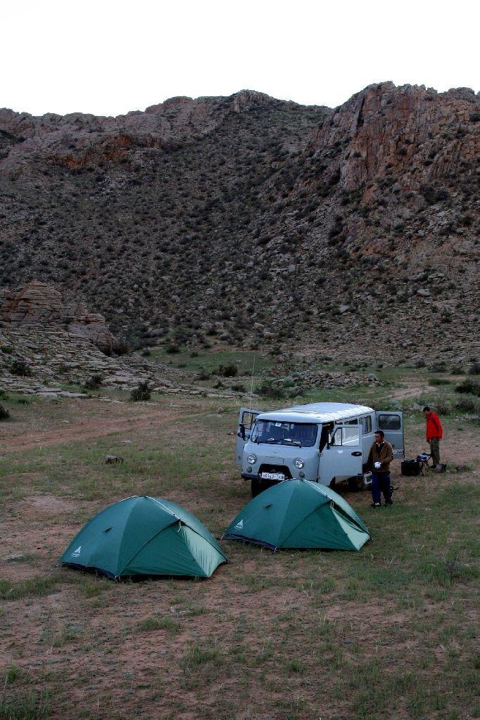Mongolei,Gambda,Zelt