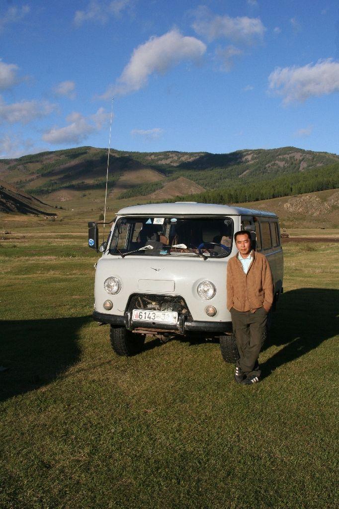 Mongolei,Gambda,Tatrabus