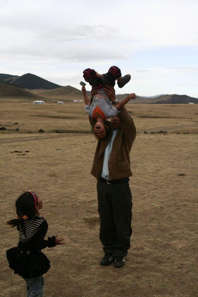 Mongolei,Gambda,Kinder