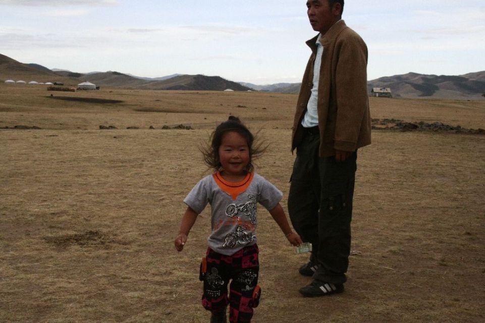 Mongolei,Kinder