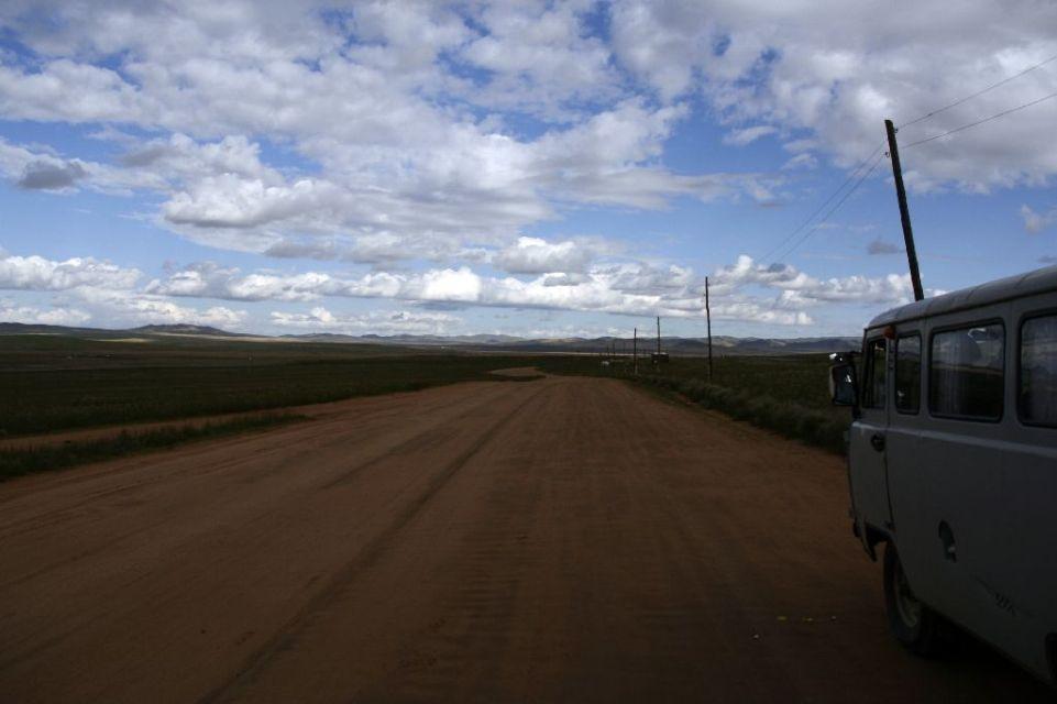 Mongolei,Autobahn