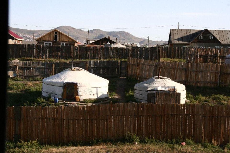Mongolei,Ulan Bator,Zug,Jurte