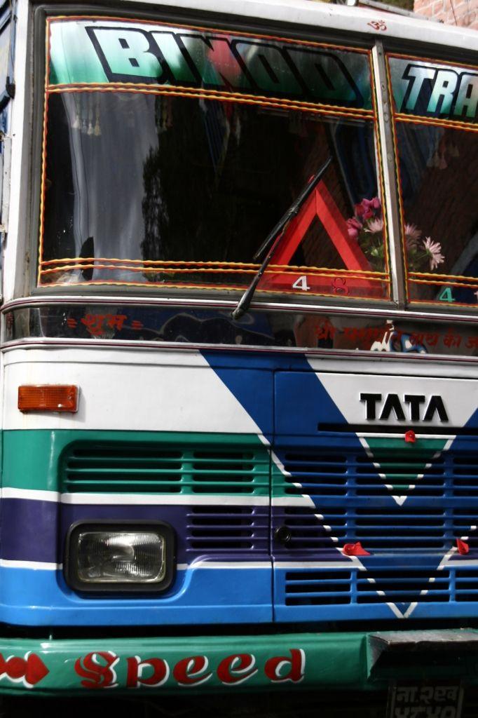 Farben,Verkehr,Nepal,Lastwagen