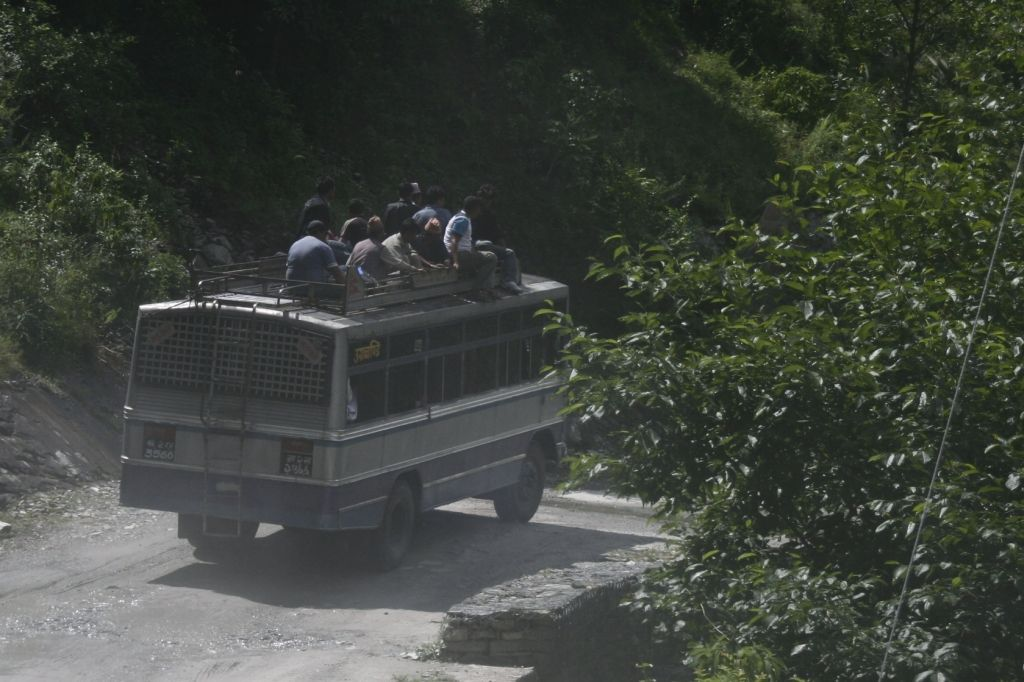 Andere,Nepal,Lastwagen