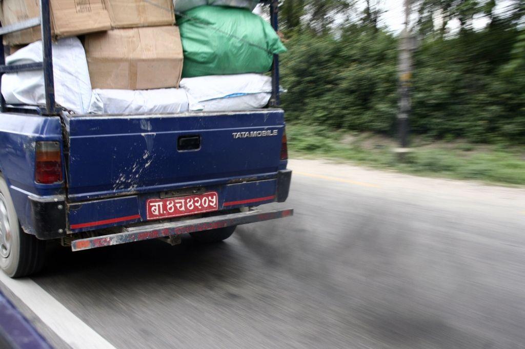 Verkehr,Nepal