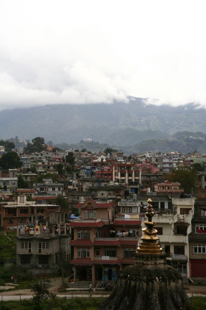 Nepal,Kathmandu,Skyline