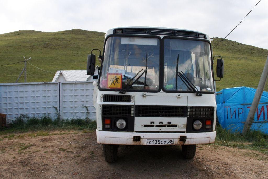 Baikalsee,Russland,Bus