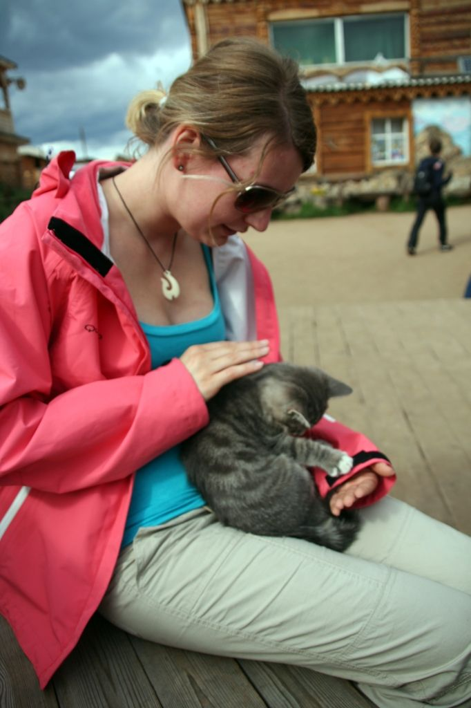 Baikalsee,Russland,Katze