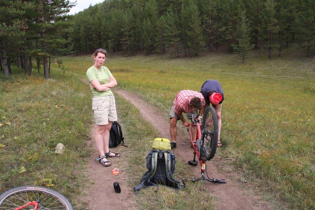 Baikalsee,Russland,Radfahren
