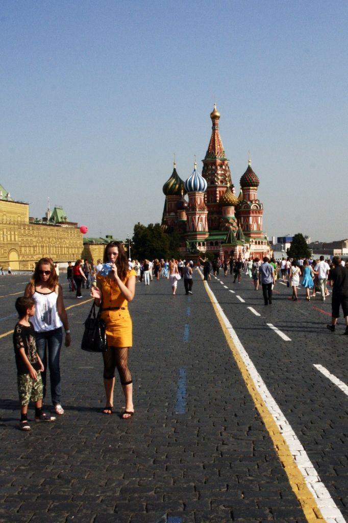 Moskau,Russland,Basilius-Kathedrale,Mode