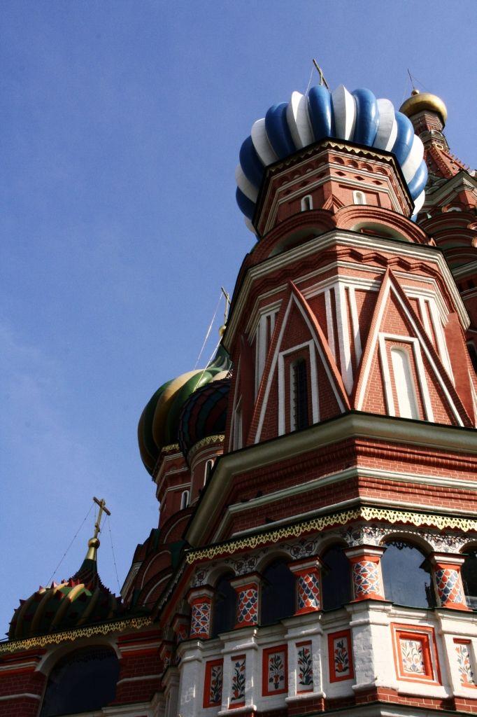 Moskau,Russland,Basilius-Kathedrale