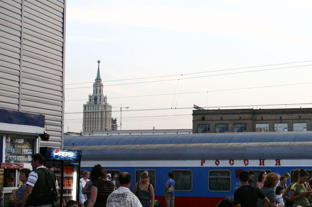 Moskau,Russland,Bahnhof