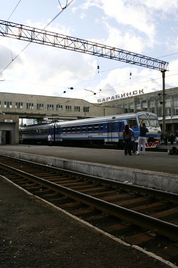 Russland,Bahnhof
