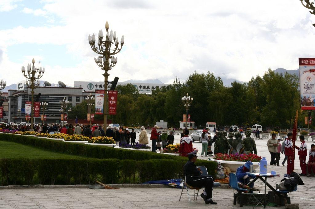 Lhasa,Tibet,Soldaten