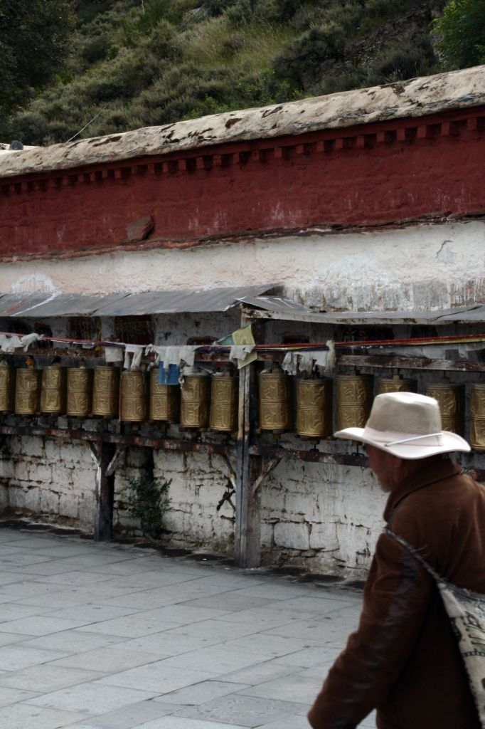 Gebetsmühle,Lhasa,Tibet