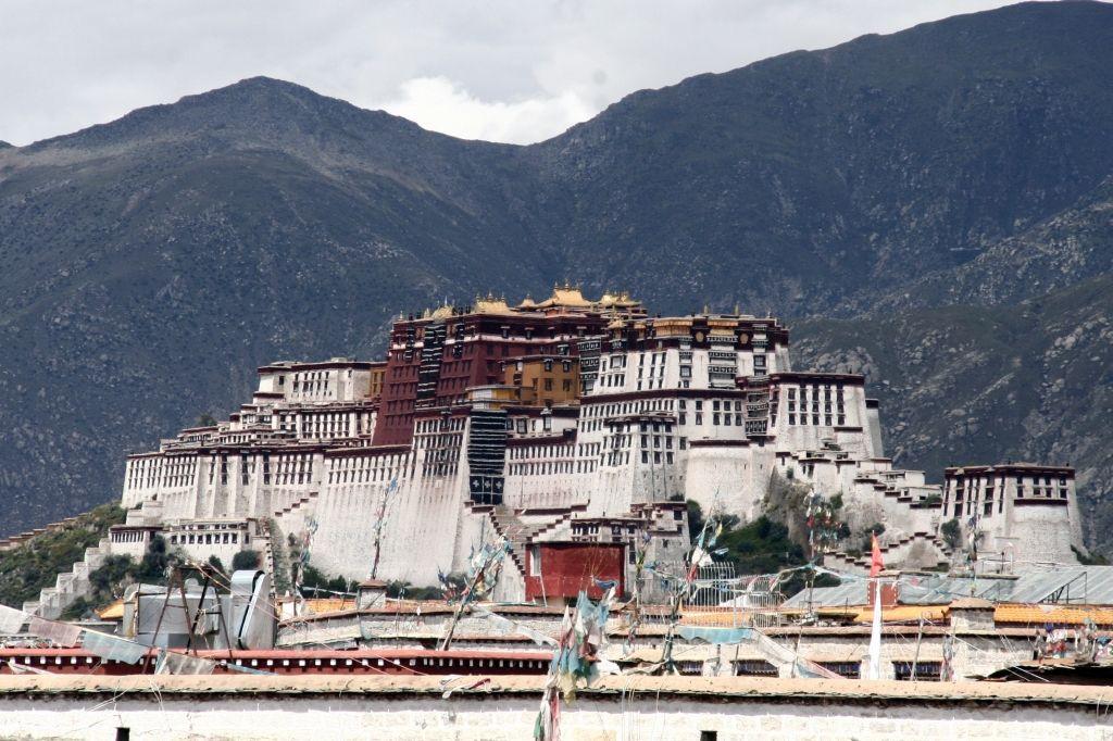 Lhasa,Jokhang,Tibet,Potala
