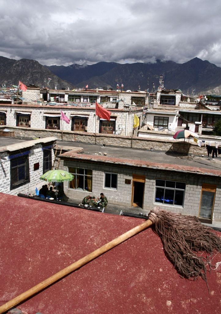 Bildsprache,Lhasa,Jokhang,Tibet