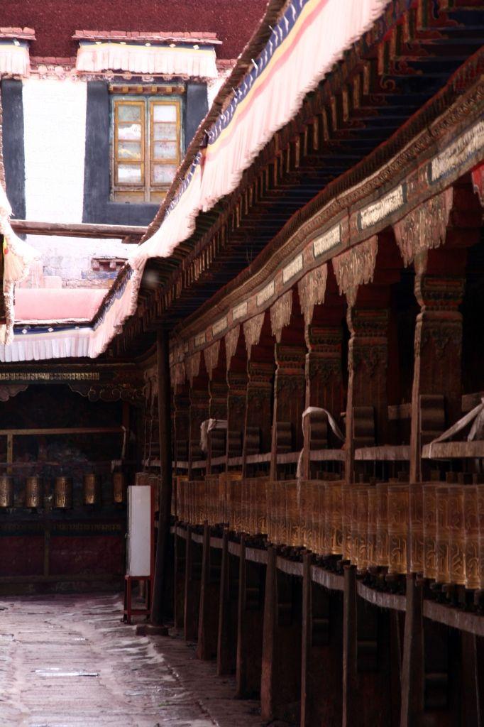 Gebetsmühle,Lhasa,Jokhang,Tibet