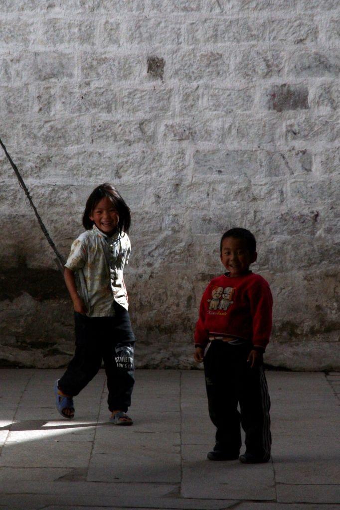 Kinder,Lhasa,Tibet