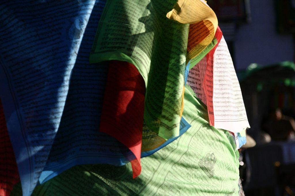 Farben,Lhasa,Gebetsfahnen,Tibet