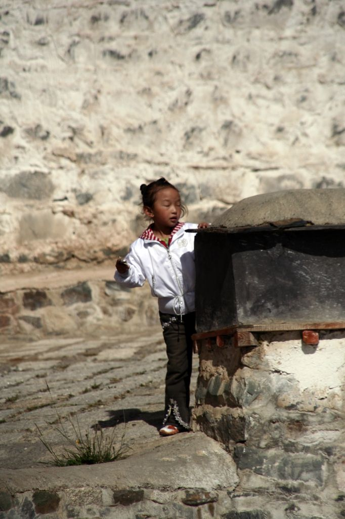 Kinder,Tibet,Shigatse,Tashilhunpo