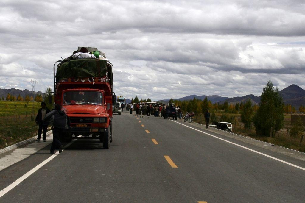 Tibet,Unfall