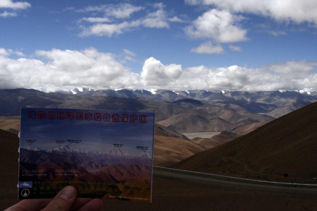 Tibet,Mt. Everest,