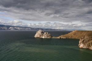 Der Schamanenfelsen im Baikalsee